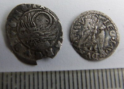 2 x Unresearched Hammered Silver Coins (Detector Finds)