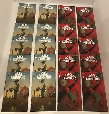 Farmhand #1 & 2 (10 Copies Each) Investment Lot Image Comics Rob Guillory Chew