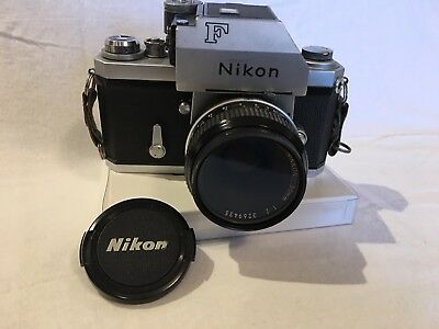 Nikon FTN Vintage SLR Camera Body and 50mm f1.2 Prime Lens - FREE SHIPPING