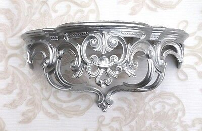 Wall Bracket Console Baroque 50x24cm Mirror Table Antique Flower Stand Wall Deco