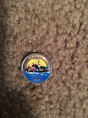 Collectible Colored State Quarter New Jersey 1999 Crossroads of the Revolution