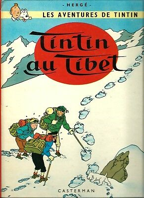 The Adventures Of Tintin (In French):tintin Au Tibet By Herge