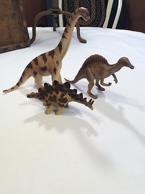 Schleich Dinosaurs Lot Of 3