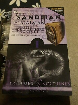 The Sandman: Preludes and Nocturnes by Neil Gaiman (Vol 1)