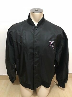 VERY RARE Official Xena Satin Crew Jacket With Xena Logo & Chakram Buttons