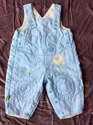 Marese Baby Boy or Girl Unisex Dungarees Babygrow Playsuit 9 Months 71cm