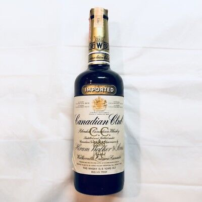 Canadian Club 6 Year Old Whisky Collector Bottle 1972. Never opened (75cl, 40%)
