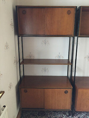 Avalon Teak Laddrax style shelving unit