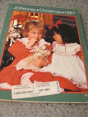 Vintage JC PENNEY WISH BOOK 1987 CHRISTMAS PENNEYS CATALOG