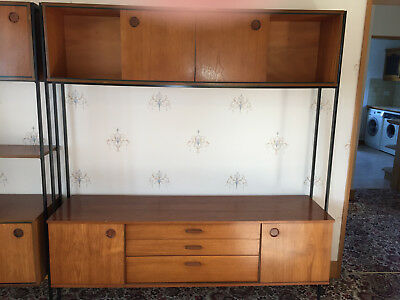 Avalon Teak Laddrax style shelving unit.
