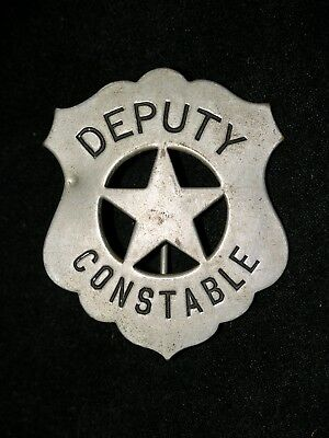 Antique Old West Deputy Constable Obsolete Badge