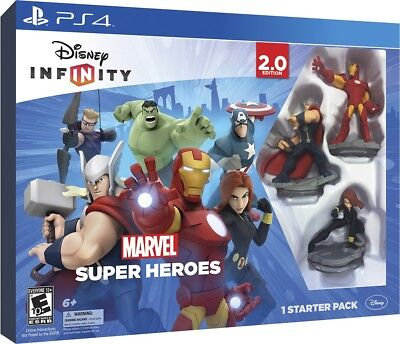 Disney Infinity -- 2.0 Edition (Sony PlayStation 4, 2014) Starter Game Pack