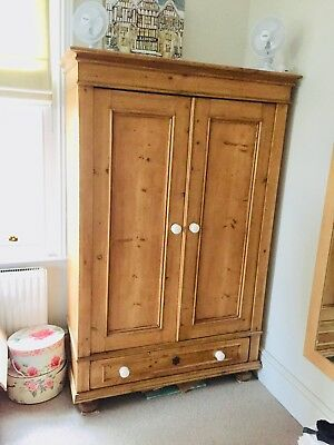 Lovely Antique  Pine Wardrobe