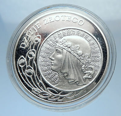 2006 POLAND Proof 10 Zlotych Silver HISTORY OF POLISH ZLOTY SERIES Coin i71866