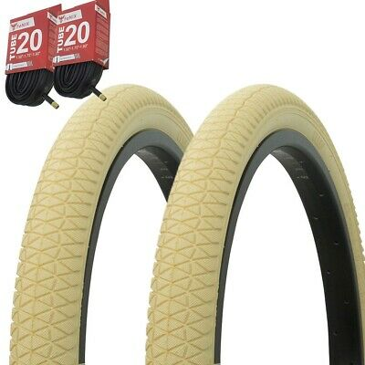 "Bicycle Bike Tires /& Tubes 18/"" x 1.95/"" Blue//Blue Side Wall P-1208 1PAIR"