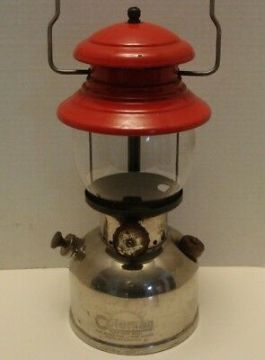 Vintage Coleman Model 242 - 299 Camping Lantern Canada dated 2 1951