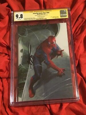 Cgc Ss 9.8~Amazing Spider-Man #800~Virgin Variant~Signed By Gabriele Dell'Otto~