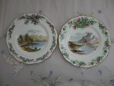 Vintage Royal Albert Traditional British Songs, Side Plates,1st Quality, VGC