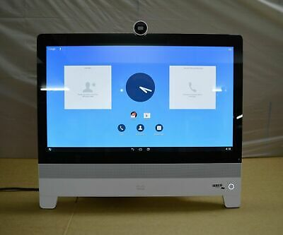 "Cisco DX80 DP-DX80-K9 TelePresence 23"" TouchScreen HD Video Conferencing System"
