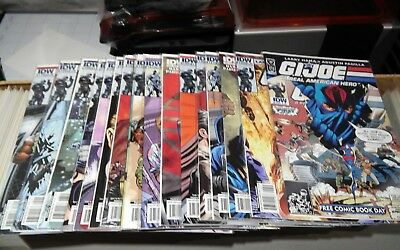 G.I. Joe IDW A Real American Hero complete run 2010 155 1/2 156 - 170 16 total