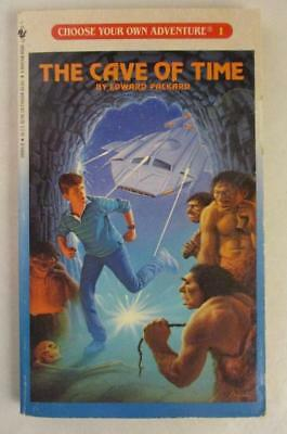 Vtg Choose Your Own Adventure #1 The Cave of Time CYOA Book VG+
