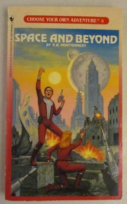 Vtg Choose Your Own Adventure #4 Space and Beyond CYOA Book VG+