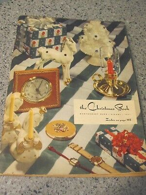 Vintage Montgomery Ward 1941 The Christmas Book CATALOG