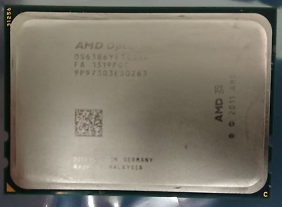 AMD Opteron 6386 SE 16 Core CPU 2.8 to 3.5GHz Socket G34