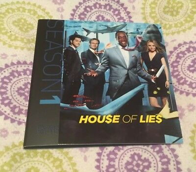 House of Lies Complete 1st First Season 1 One BRAND NEW 2-DISC DVD SET