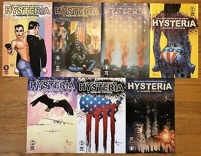 Divided States of Hysteria 1 2 3 4 5 6 Howard Chaykin Complete VF/NM FREE SHIP