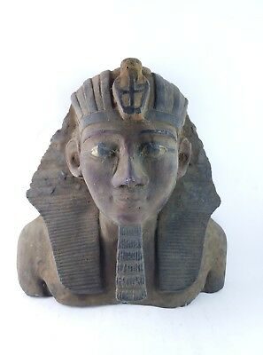 ANCIENT EGYPTIAN STATUE Stone Pharaoh King Ramesses Ii 1279-1213 Bc