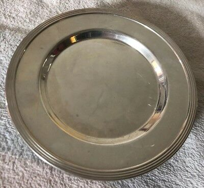 Vintage Towle Sterling Silver Bread Plates- 6