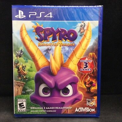 Spyro Reignited Trilogy(PS4 / PlayStation 4) BRAND NEW / US Version