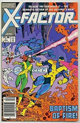 X-Factor #1 Canadian Newsstand Edition Variant - Marvel - VF+ 8.5