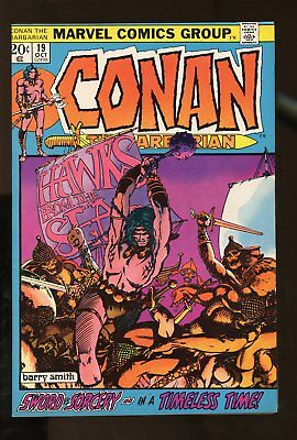 CONAN THE BARBARIAN #19 VF/ NM 9.0 BARRY SMITH 1972 MARVEL COMICS #stp-98