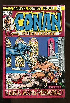 CONAN THE BARBARIAN #20 VERY FINE 8.0 BARRY SMITH 1972 MARVEL COMICS #stp-99