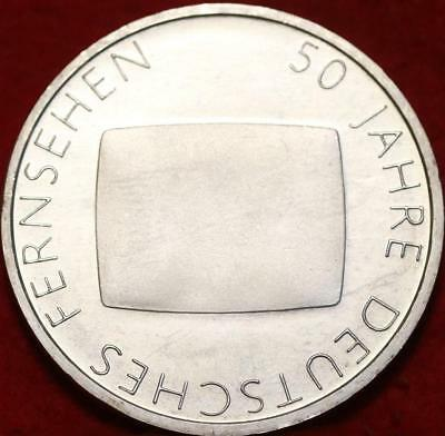 Uncirculated 2002-G Germany 10 Euro Silver Foreign Coin