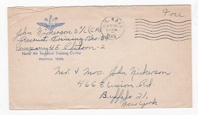World War Ii Military Free Mail Us Navy April 15 1945 With Letter