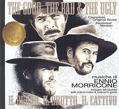 Ost/The Good The Bad & The Ugly 2 Cd New+ Morricone,Ennio