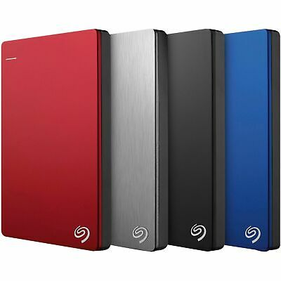 "Seagate Backup Plus 1TB 2TB 4TB 5TB 2.5"" USB Portable External Hard Drive HDD"