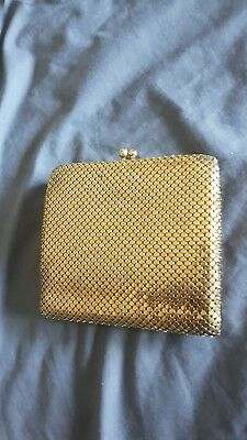 Vintage collectable glomesh gold mesh purse