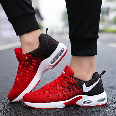 Men's Fashion Running Breathable Shoes Sports Casual Walking Athletic Sneakers
