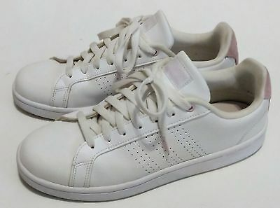 info for 2571a 834e5 Adidas CF Advantage CL CloudFoam White Pink Women Casual Shoes Sneakers  DB0893 .