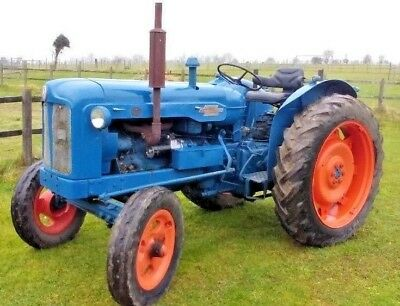 Ford Fordson Dexta & Major Tractor Service Repair Technical Manual