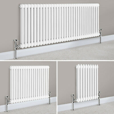 Horizontal Traditional Column Cast Iron Style Radiator Bathroom Central Heating