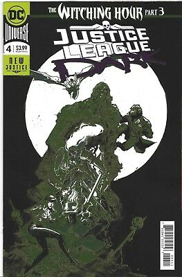 Justice League Dark #4 Witching Hour part 3 DC Comic 1st Print 2018 NM