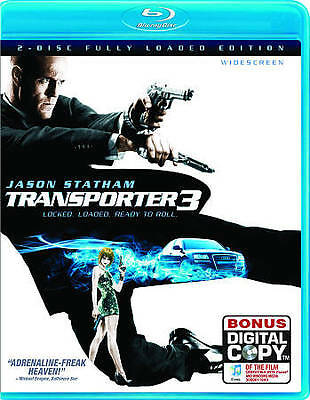 Transporter 3 [New Blu-ray] Ac-3/Dolby Digital, Digital Copy, Dolby, Digital T