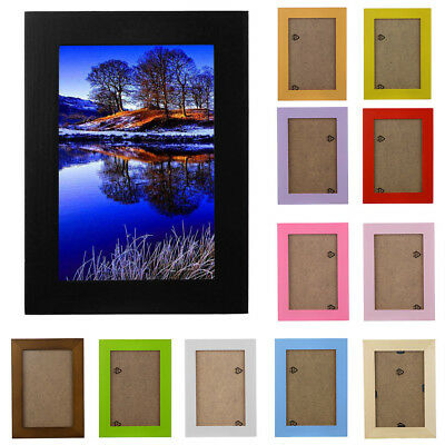 5 / 6 /7 /8 inchHome Decor Wooden Picture Frame Wall Mounted Hanging Photo Frame