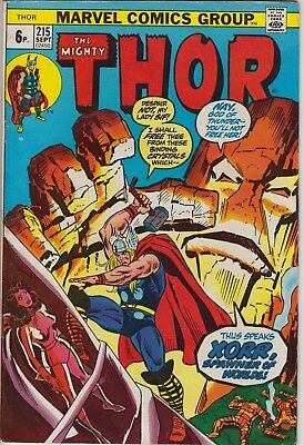 "Thor 215 - ""Thus Speaks Xorr, Spawner of Worlds!"". Bronze age pence issue"