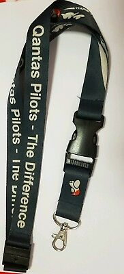 QANTAS PILOTS The Difference Lanyard - Genuine and rare